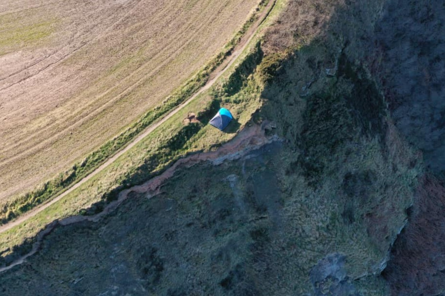 FAMILY CAMPING ON 280FT CLIFF-TOP HAD 'NO IDEA OF EXTREME DANGER'
